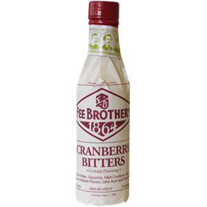BITTER FEE BROTHERS CRANBERRY BITTERS 4,1% 0,15