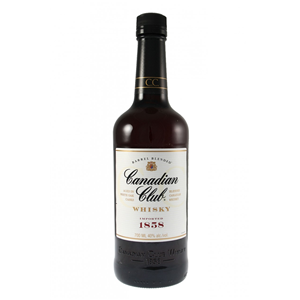 WHISKY CANADIAN CLUB  40%  0,7L
