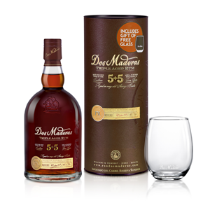 RUM RON DOS MADERAS 5+5 PX GLASS 0,7L 40%