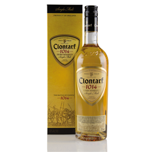 WHISKY SM CLONTARF 1014 SINGLE MALT 40% 0,7L