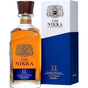 WHISKY THE NIKKA 12 YEARS 43% 0,7L
