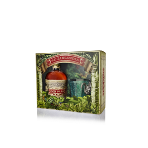 RUM DON PAPA 40%  0,7L GLASS PACK