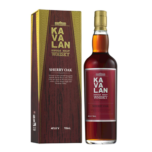 WHISKY SM KAVALAN SHERRY OAK 46% 0,7L