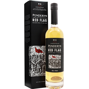 WHISKY SM PENDERYN ICON OF WALES RED FL. 41% 0,7GB